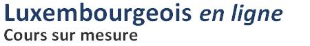 Luxembourgeois en ligne Logo